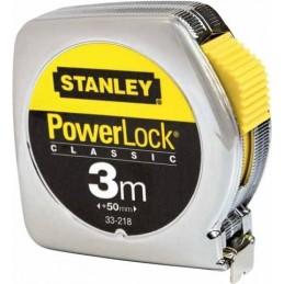 Stanley(17) Mètre Ruban Powerlock 3m - 12,7 métal
