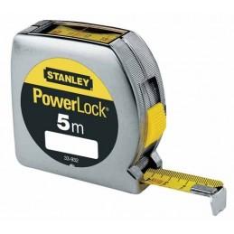 Stanley(17) Metre Ruban Powerlock 5m - 19mm lectur