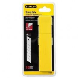 Stanley(17) Lames de Cutter 25mm - 10 pcs-distribu