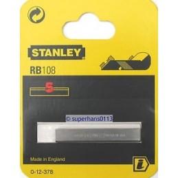 Stanley(17) Lame de Rabot Droite 50mm - 5 pcs-cart