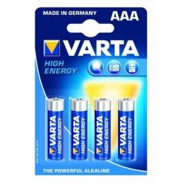 VARTA PILE LR03 AAA - 4 PIECES *14*