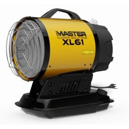 MASTER XL 61 CANON À CHALEUR INFRAROUGE DIESEL AVEC CHARIOT 17KW