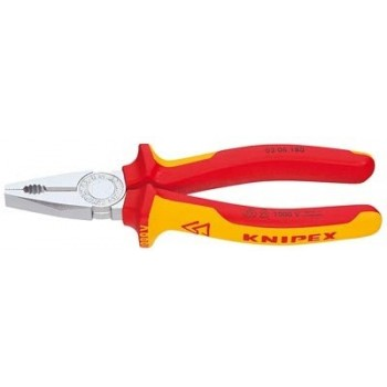 Knipex(17) PINCE UNIVERSELLE 180MM CHROME 1000V