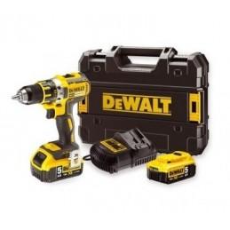 DEWALT DCD791P2-QW 18V xr li-ion brushless schroef-/boormachine 2x 5,0ah