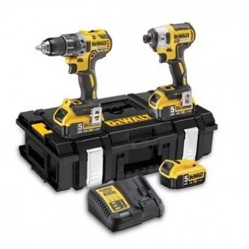 Dewalt(16) DCK266P3-QW Kit 18V Brushless: perceuse