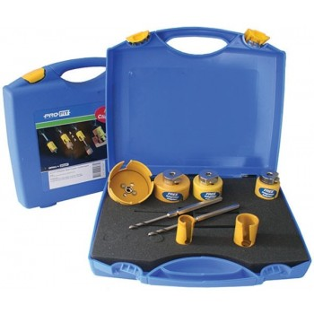 ProFit 09082582D PVC koffer MP - 6 (25-82mm) Hole Saws and various accessories