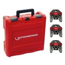 Rothenberger 1000002067 - Press Jaw Set Standard, M15-22-28mm\n Crimping machine accessories