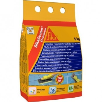 SIKA 427157 SikaCeram CleanGrout WHITE - 5kg Adhesives and silicones