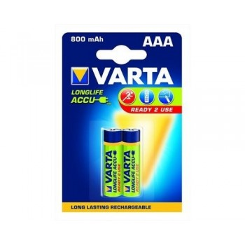 VARTA 56703 AAA HR03 Ni-MH 1.2V 800mAh blister 2pc Batteries, chargers