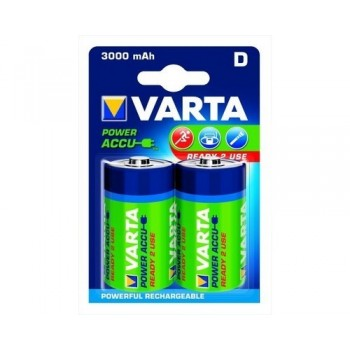 VARTA 56720 D HR20 Ni-MH 3000mAh 1.2V blister 2 pc Batteries, chargers
