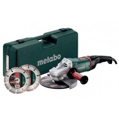 Metabo Angle grinder WE24-230MVTset in box 230 mm