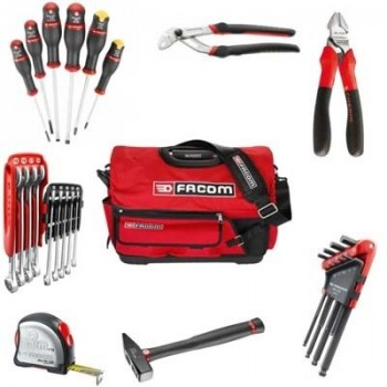 FACOM BS.T20CM28 - SOFTBAG WITH TOOLS SET BS.T20 Tool cases FILLED