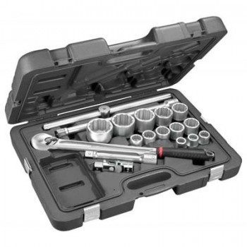 FACOM KL.501 - 3-4 SOCKET SET 6 POINTS WITH KL.161 Kits and set tools