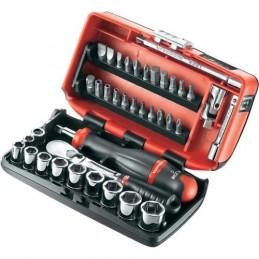 FACOM RL.NANO112 - SET OF 12-POINT 1-4 SOCKETS Kits and set tools