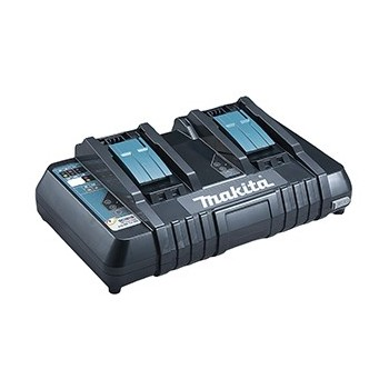 Makita fast charger with two batteries DC18RD Makita