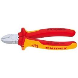 Knipex PINCE COUPANTE COTE 125MM CHROME 1000VPinces Coupantes