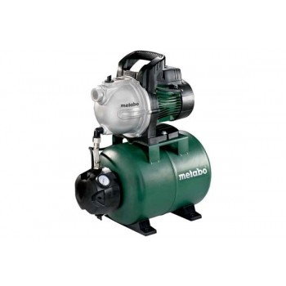 Metabo HWW 4000-25 G Supresseur avec réservoirPompes à eau