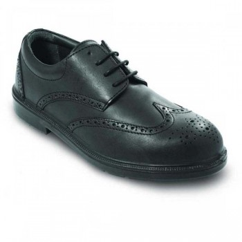 NO RISK OXFORD MANAGER LEATHER S3 Safety Shoes