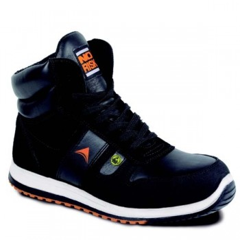 NO RISK - JUMPER HIGH BLACK S3 Safety Shoes