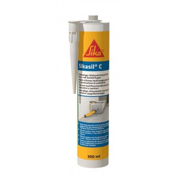 SIKA 72030 Sikasil-C GRIJS - k300ml Adhesives and silicones