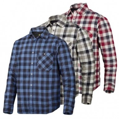 Snickers 8501 RW Padded Flannel Checked LS Shirt Shirts