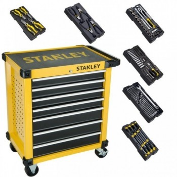 Stanley Servant 7 drawers + 6 modules Mobile work centers