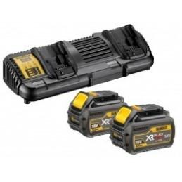 Dewalt DCB132T2-QW XR FLEXVOLT Dualcharger + 2 ac Accessories