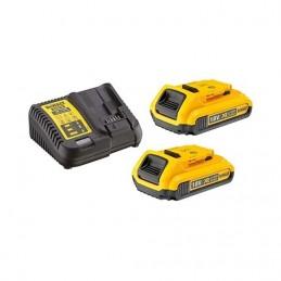 Dewalt DCB115D2-QW Set 2x batteries 18V XR Li-Ion Dewalt