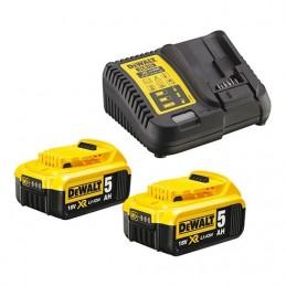 Dewalt(16) DCB115P2-QW Set de 2x 18V XR Li-Ion 5,0
