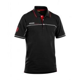 BK Branded Poloshirt S-XXXL Noir-RougeVêtements-EPI