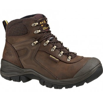 CATERPILLAR PNEUMATIC S3 DARK BROWN Safety Shoes