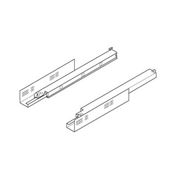 Blum Door guides rail 566H7500B01 TANDEM MP ZN Ironmongery