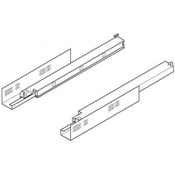 Blum Door guides rail 566H7000B01 TANDEM MP ZN Ironmongery