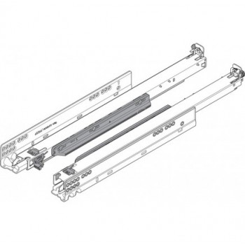 Blum Door guides rail 760H5200T MOVENTO MP ZN Ironmongery