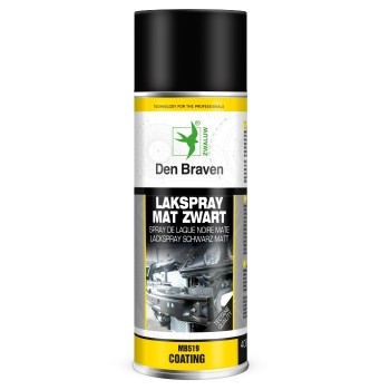 TECTANE MB519 Matt black lacquer 400ml Sprays