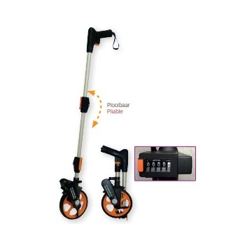NEDO Measuring wheel PRO with reset button and backpack Measuring wheels