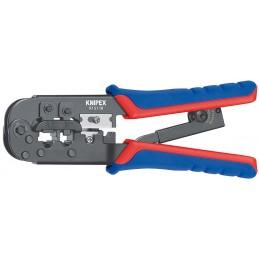 Knipex 97 51 10 - PINCE A SERTIR FICHES WESTERN RJ11-12-4Pinces