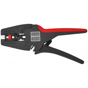 Knipex 12 42 195 SB - PINCE A DENUDER AUTOMATIQUE MULTISTRIPPinces