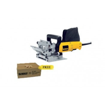 Dewalt DW682K-QS - Biscuit Jointer 230V 600W Joiners, groovers