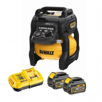 Dewalt DCC1054T2-QW - Compressor 54V XR FLEXVOLT - 2x batteries Machines