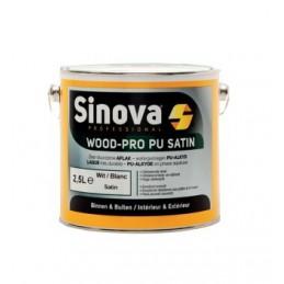 Sinova WOOD-PRO PU MAT BLANC 2.5LPROMOS