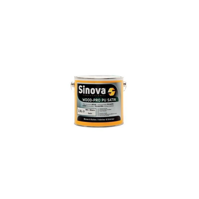Sinova WOOD-PRO PU MAT White 2.5L Painting