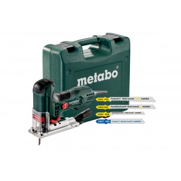 Metabo STE100QuickSetSciesauteuse avec 4 lamesMachines
