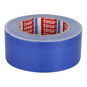 TESA 4688 Standard PE coated cloth tape Cl12 - BLUE Tapes