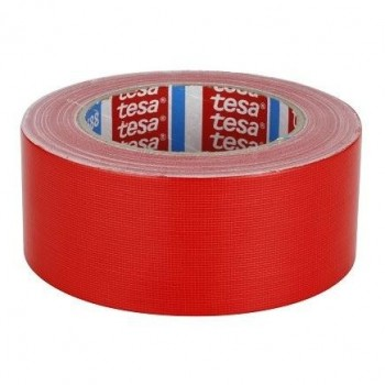 TESA 4688 Standard PE coated cloth tape Cl19 - RED Tapes