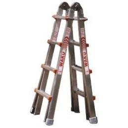 WAKU 4x4 STEPS : 1.29m -- 4.20m Ladders, stepladders