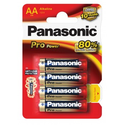 PANASONIC Pile Panasonic Pro Power- type AAPiles, batteries, chargeurs