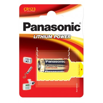 Panasonic battery Power Pro, Lithium Power CR-123 Batteries, chargers