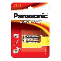 PANASONIC Pile Panasonic Lithium Power- type CR-123Piles, batteries, chargeurs
