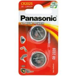 PANASONIC Pile Panasonic Lithium Power piles bouton - type CR-2025Piles, batteries, chargeurs